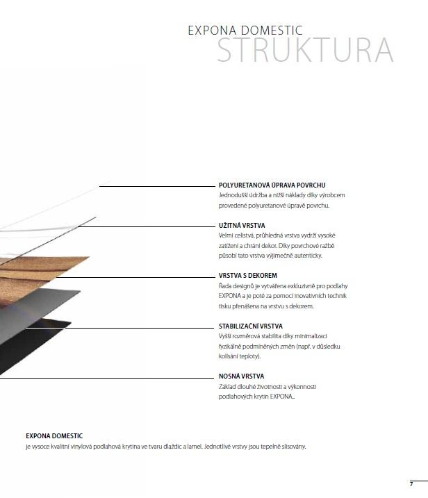 EXPONA - Štruktúra povrchu DOMESTIC
